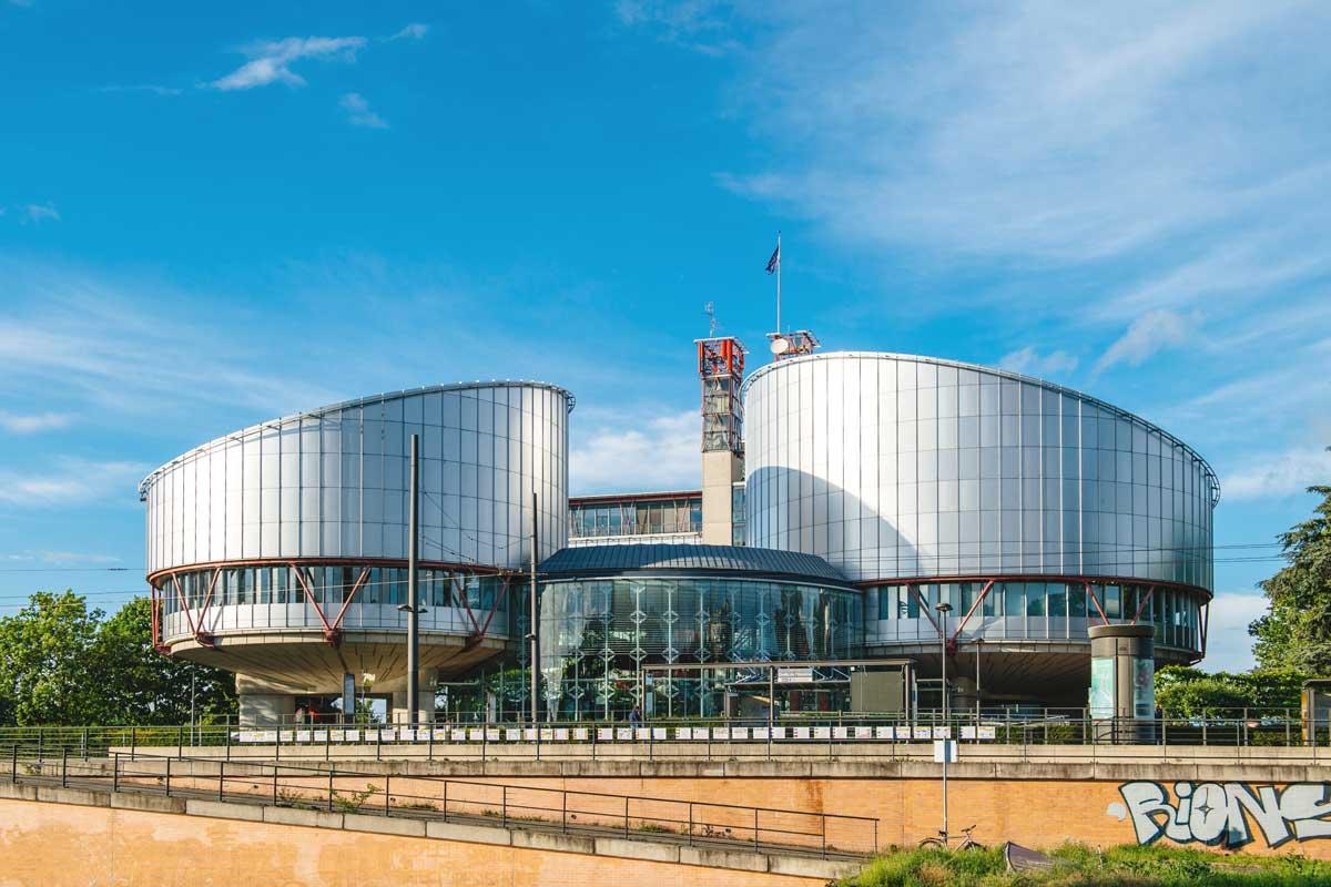Europäischer Gerichtshof für Menschenrechte in Straßburg