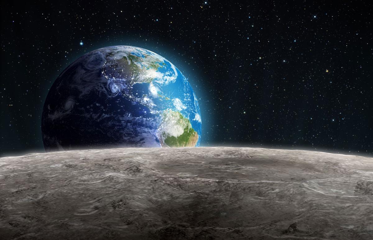 Wird der Mensch zuerst den Mond besiedeln?