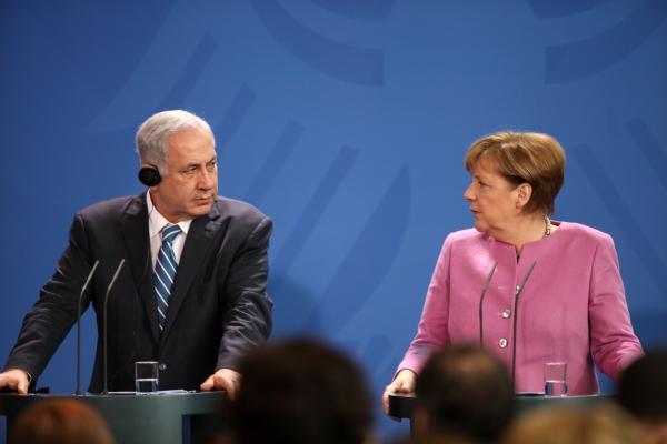 Benjamin Netanjahu und Angela Merkel am 16.02.2016, über dts Nachrichtenagentur