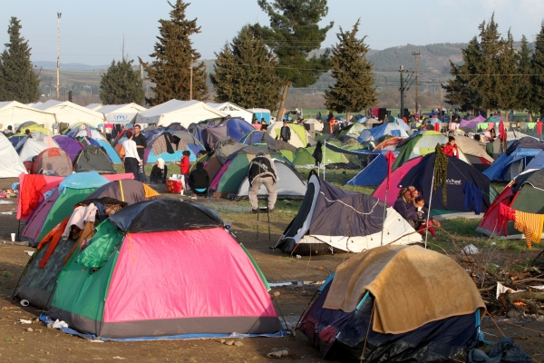 Flüchtlingslager Idomeni, über dts Nachrichtenagentur