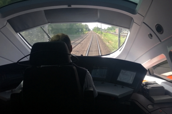 ICE-Lokführer bei der Deutschen Bahn, über dts Nachrichtenagentur