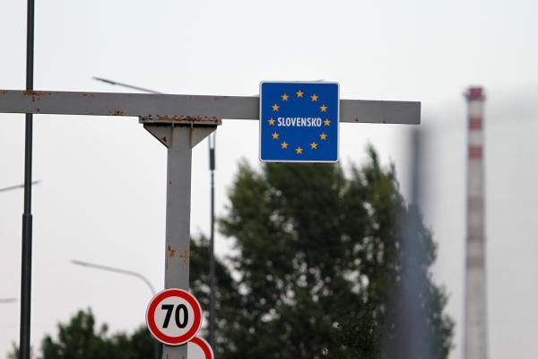 Slowakischer Grenzüberang, über dts Nachrichtenagentur