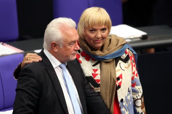 Wolfgang Kubicki und Claudia Roth, über dts Nachrichtenagentur