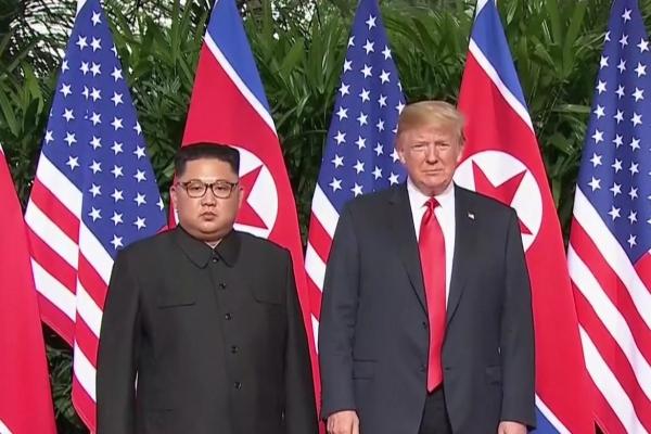 Kim und Trump am 12.06.2018, über dts Nachrichtenagentur