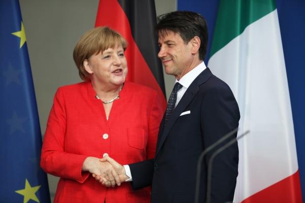 Angela Merkel und Giuseppe Conte am 18.06.2018, über dts Nachrichtenagentur