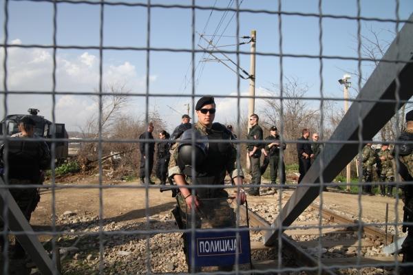 Grenze Mazedonien - Griechenland, über dts Nachrichtenagentur