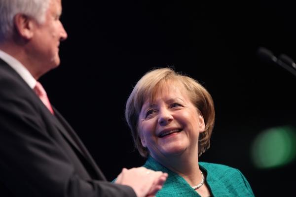 Angela Merkel und Horst Seehofer, über dts Nachrichtenagentur