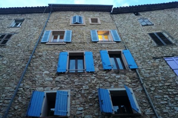 Hausfassade in Südfrankreich, über dts Nachrichtenagentur