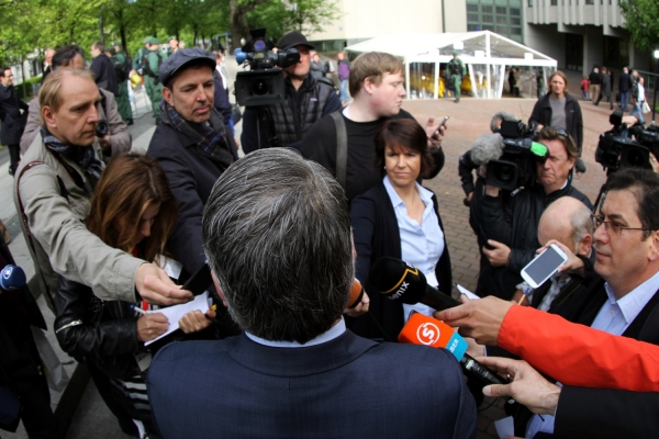 Opferanwalt Mehmet Daimagüler beim NSU-Prozess, über dts Nachrichtenagentur