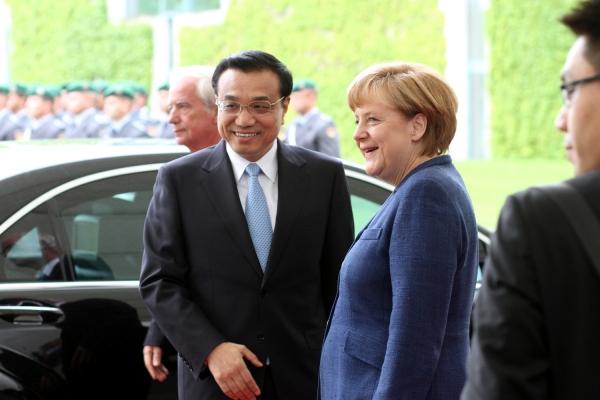 Li Keqiang und Angela Merkel bei früherem Treffen, über dts Nachrichtenagentur