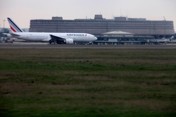 Air France am Flughafen Paris Charles de Gaulle, über dts Nachrichtenagentur