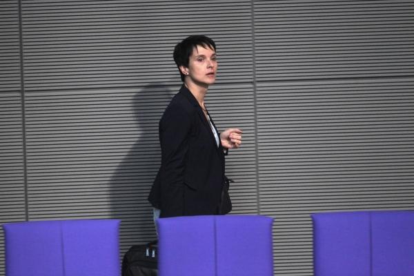 Frauke Petry am 24.10.2017, über dts Nachrichtenagentur