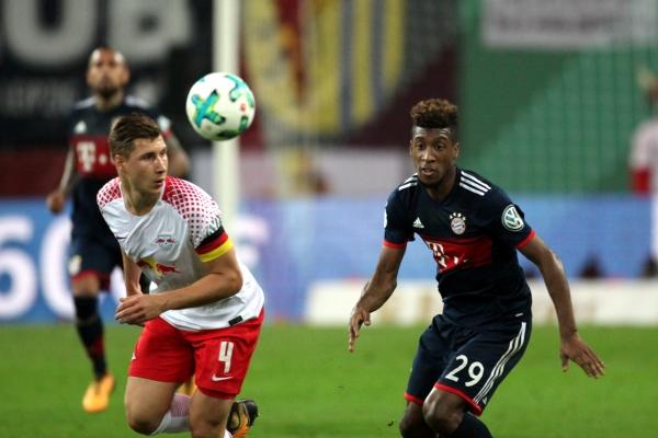RB Leipzig - Bayern München am 25.10.2017, über dts Nachrichtenagentur