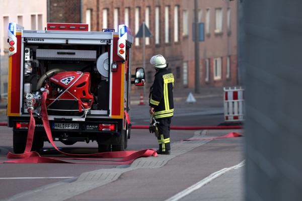Feuerwehr im Einsatz, über dts Nachrichtenagentur