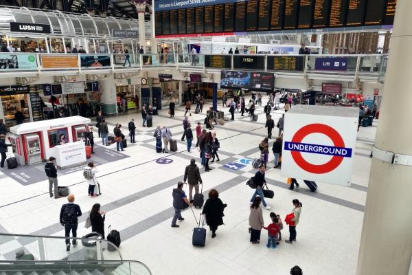 Liverpool Station in London, über dts Nachrichtenagentur