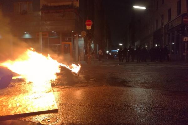 Randale in Hamburg in der Nacht auf den 08.07.2017, über dts Nachrichtenagentur