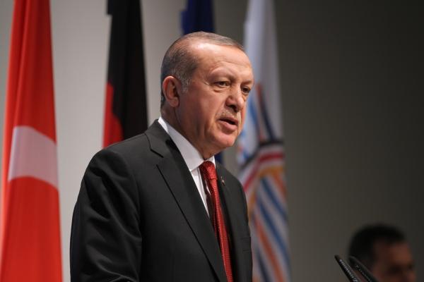 Erdogan am 08.07.2017 beim G20-Gipfel, über dts Nachrichtenagentur
