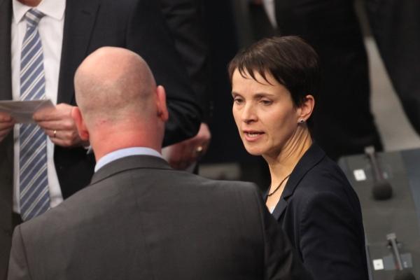 Mario Mieruch und Frauke Petry, über dts Nachrichtenagentur