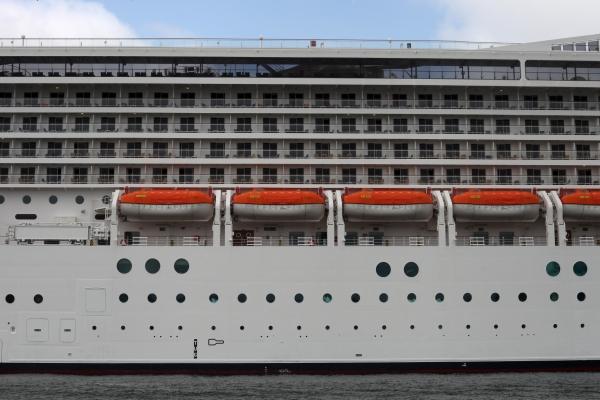 Kreuzfahrtschiff mit Rettungsbooten, über dts Nachrichtenagentur