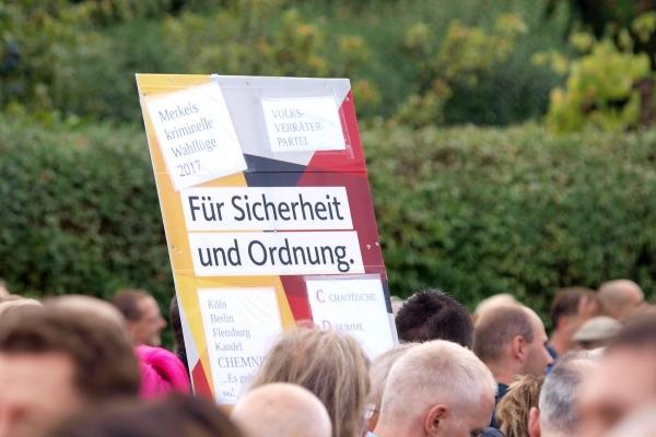 Proteste in Chemnitz, über dts Nachrichtenagentur