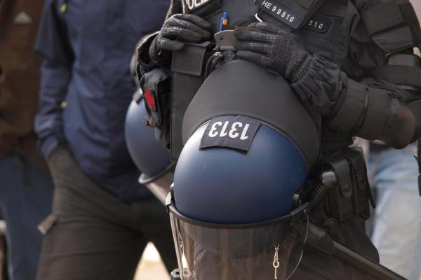 Polizei bei Protesten in Chemnitz, über dts Nachrichtenagentur