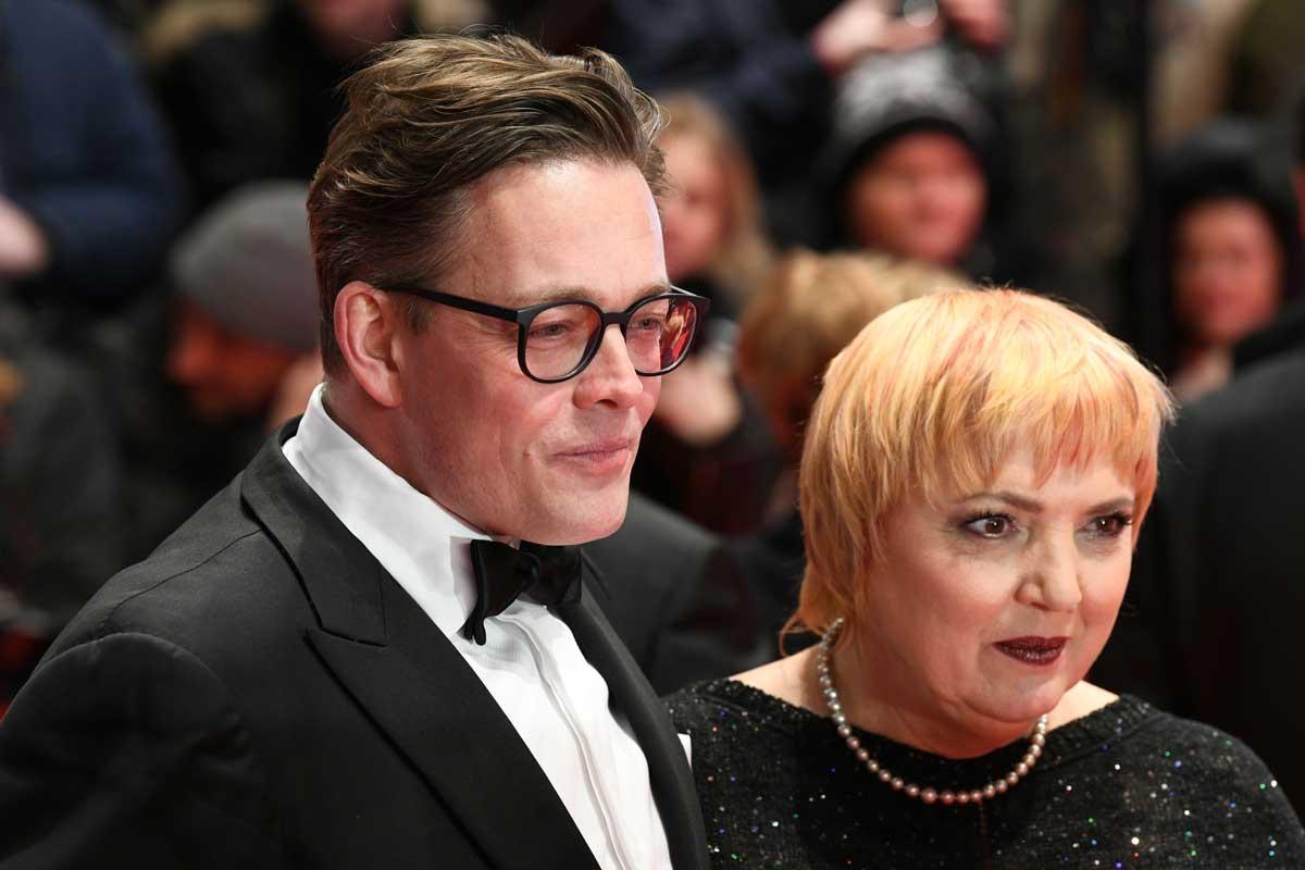 Konstantin von Notz und Claudia Roth auf der Berlinale