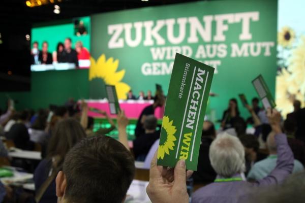 Grünen-Bundesdelegiertenkonferenz, über dts Nachrichtenagentur