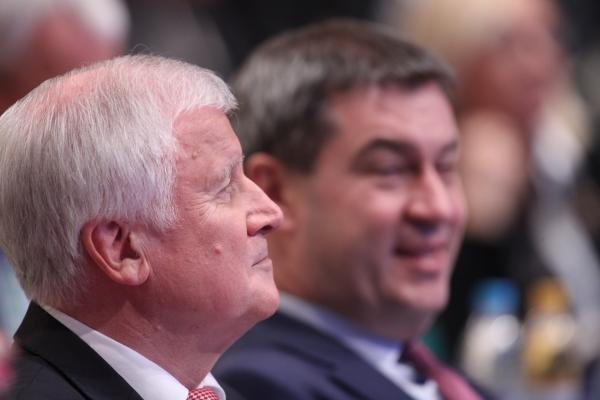 Horst Seehofer und Markus Söder, über dts Nachrichtenagentur
