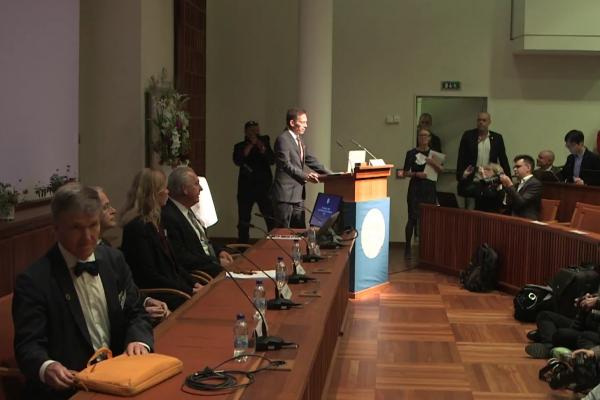 Bekanntgabe Medizin-Nobelpreis am 01.10.2018, über dts Nachrichtenagentur