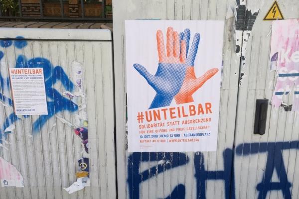 Unteilbar-Demo, über dts Nachrichtenagentur