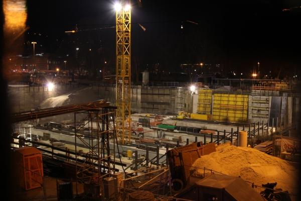 Stuttgart-21-Baustelle am Stuttgarter Hauptbahnhof, über dts Nachrichtenagentur