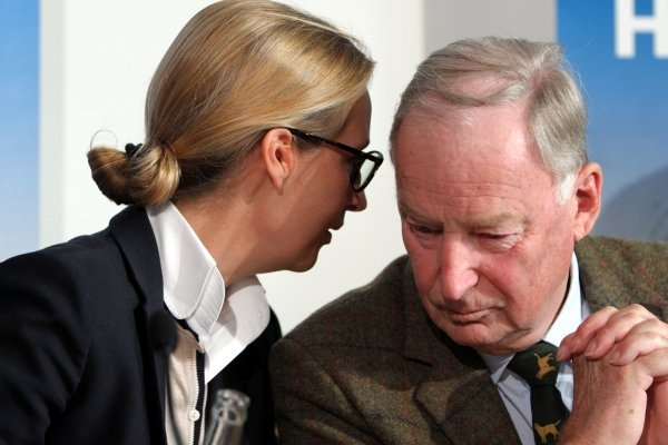Alice Weidel mit Alexander Gauland, über dts Nachrichtenagentur