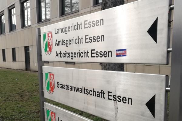 Justizzentrum Essen, über dts Nachrichtenagentur