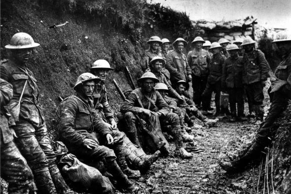 Soldaten im Ersten Weltkrieg, über dts Nachrichtenagentur