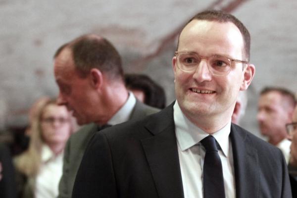 Friedrich Merz und Jens Spahn, über dts Nachrichtenagentur