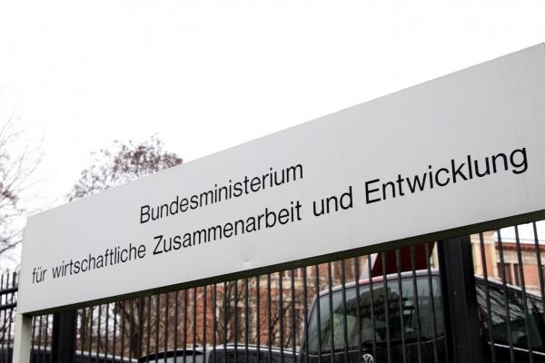 Bundesministerium für wirtschaftliche Zusammenarbeit und Entwicklung (BMZ), über dts Nachrichtenagentur