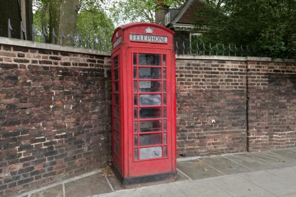 Telefonzelle in London, über dts Nachrichtenagentur