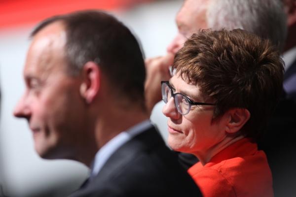 Merz und Kramp-Karrenbauer   am 22.11.2018, über dts Nachrichtenagentur
