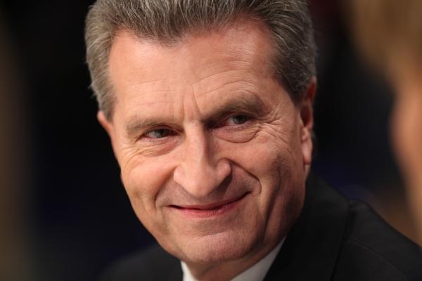 Günther Oettinger, über dts Nachrichtenagentur