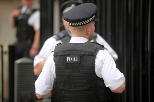 Britische Polizisten, über dts Nachrichtenagentur