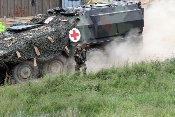 Bundeswehr-Sanitätspanzer, über dts Nachrichtenagentur