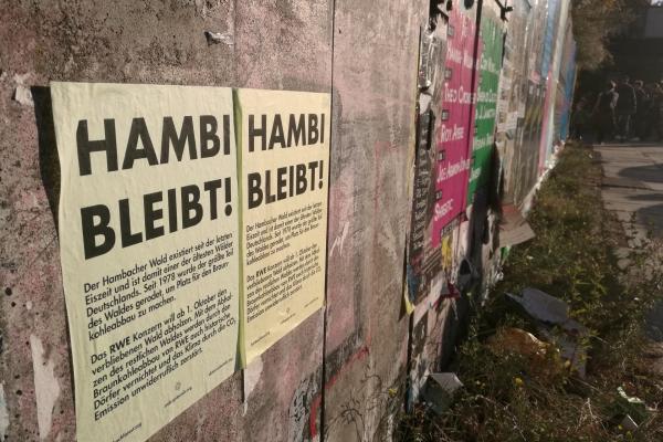 Protest für den Hambacher Forst, über dts Nachrichtenagentur