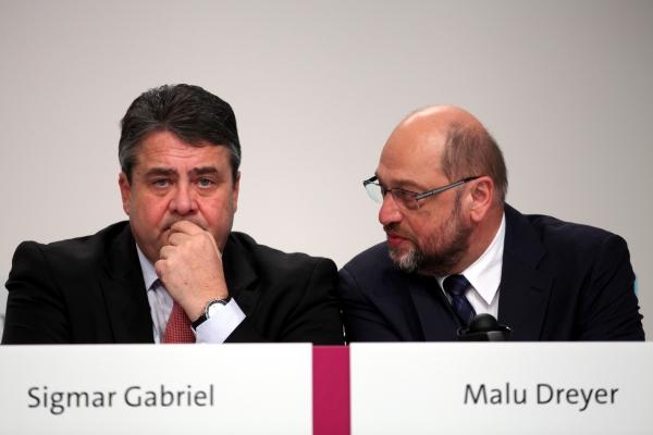 Sigmar Gabriel und Martin Schulz, über dts Nachrichtenagentur