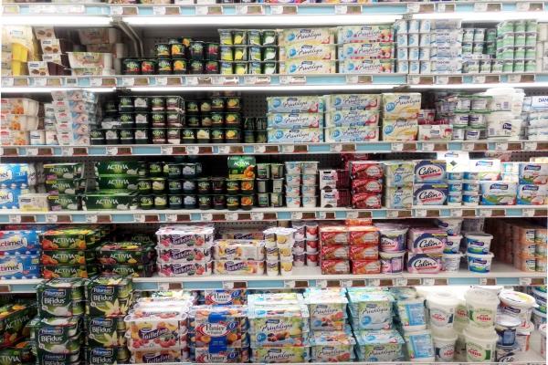 Joghurt im Supermarkt, über dts Nachrichtenagentur