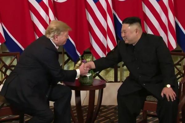 Kim und Trump am 27.02.2019, über dts Nachrichtenagentur