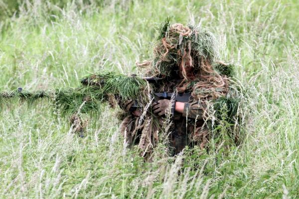 Getarnter Soldat, über dts Nachrichtenagentur