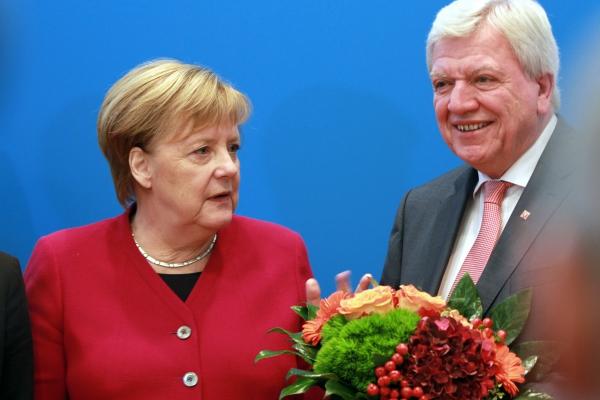 Angela Merkel und Volker Bouffier am 29.10.2018, über dts Nachrichtenagentur