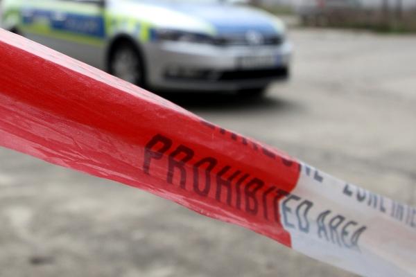 Absperrung der Polizei, über dts Nachrichtenagentur