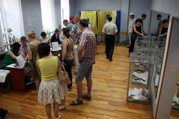 Wahllokal in Kiew, über dts Nachrichtenagentur