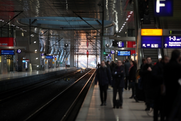 Reisende bei der Bahn, über dts Nachrichtenagentur